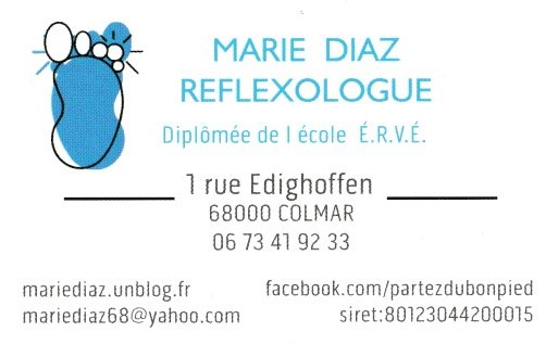 Marie Diaz Rflexologue Archives Du Blog Et Ma Carte De
